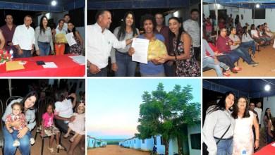 Photo of Chapada: Famílias de Nova Redenção recebem unidades do 'Minha Casa, Minha Vida' como presente antecipado de Natal