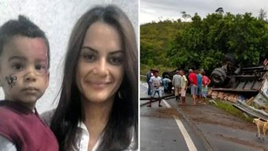 Photo of Chapada: Acidente em estrada do sul da Bahia mata mãe e filho naturais de Jacobina