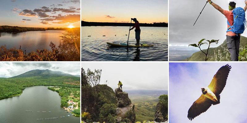 Chapada: Trilhas pela Serra do Orobó podem ser desfrutadas por turistas saindo de Ruy Barbosa