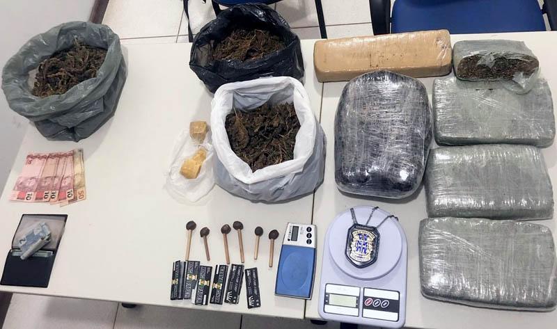 Chapada: Polícia apreende sete quilos de maconha no município de Seabra