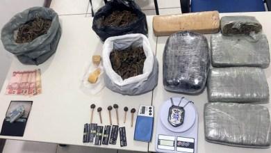 Photo of Chapada: Polícia apreende sete quilos de maconha no município de Seabra