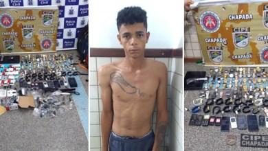 Photo of Chapada: Operação policial prende ladrão e recupera parte de produtos roubados em loja de Ruy Barbosa