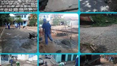 Photo of Chapada: Prefeito de Lençóis continua com ações de pavimentação e recuperação de ruas do município