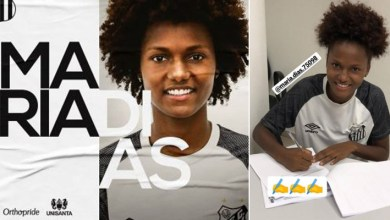 Photo of #Bahia: Atleta natural de Ipirá Maria Dias foi anunciada como nova jogadora do Santos