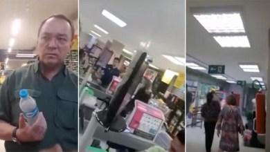 """Photo of #Vídeo: Sérgio Moro é indagado em supermercado de Brasília sobre o caso Queiroz e chamado de """"lixo de gente"""""""