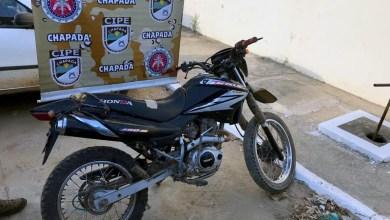 Photo of Chapada: Moto roubada em São Paulo é recuperada pela Cipe na cidade de Utinga; condutor é preso em flagrante