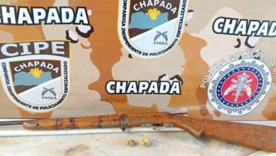 Photo of Chapada: Arma de fogo e drogas são apreendidas por policiais da Cipe em Itaetê