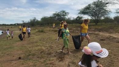 Photo of Chapada: Lions Clube de Itaberaba realiza ação em barragem de açude e amplia conscientização ambiental