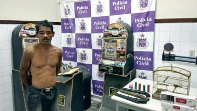 Photo of Chapada: Polícia prende homem com máquinas de caça-níqueis e armas em Itaberaba