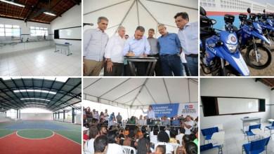Photo of #Bahia: Em Feira de Santana, Rui Costa inaugura colégio estadual com capacidade para mais de mil alunos