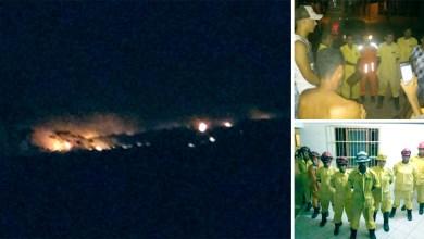 Photo of Chapada: Incêndio florestal em comunidade quilombola de Iraquara é apagado pela chuva; veja vídeos