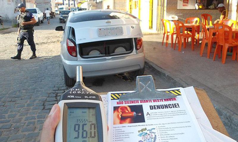 Chapada: PM deve combater poluição sonora em Barra da Estiva depois de recomendação do MP