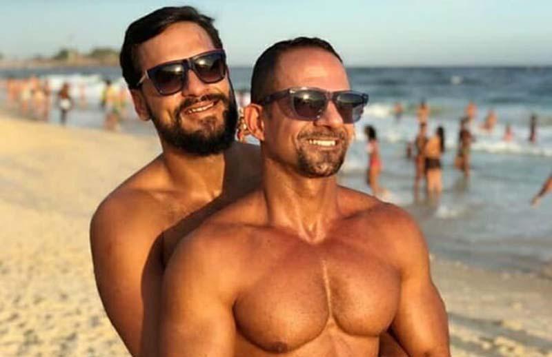 #Brasil: Major do Exército dá exemplo contra a homofobia após declarações preconceituosas por foto com marido