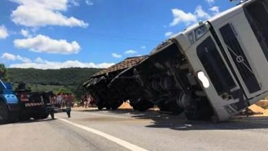 Photo of Chapada: Motorista embriagado provoca acidente com caminhão na região do município de Seabra