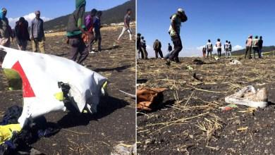 Photo of #Mundo: Avião cai próximo da capital da Etiópia e 157 pessoas morrem; piloto relatou dificuldades antes da queda