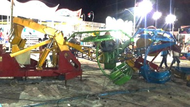Photo of Chapada: Crianças ficam feridas após brinquedo de parque de diversões desabar em Itaberaba