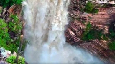 Photo of Chapada: Novas imagens da Cachoeira do Buracão impressionam pelo volume da água após chuvas