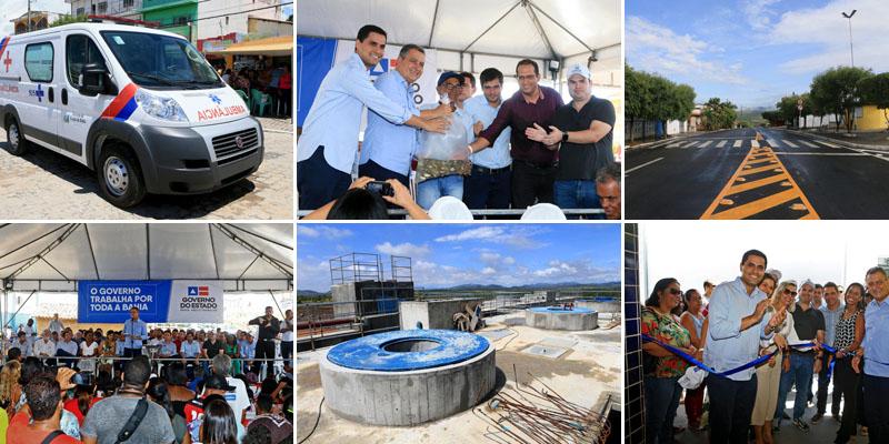 Chapada: Itaberaba recebe investimento de R$80 milhões em obras do governo Rui Costa; veja fotos