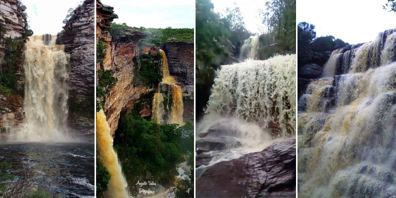 Chapada: Pontos turísticos cheios de água, paisagens espetaculares e muito frio; confira fotos e vídeos