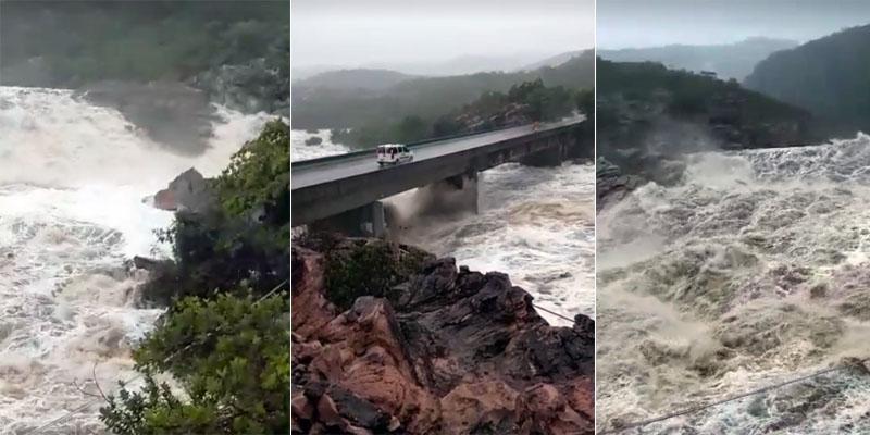 Chapada: Chuvas voltam a amenizar o calor na região; vídeo mostra força da água em Andaraí