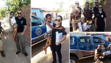 Photo of Chapada: Peritos e PMs fazem surpresa de aniversário para criança no município de Itaberaba
