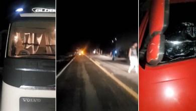 Photo of Chapada: Vídeos mostram tensão de motoristas após série de assaltos em trecho da BR-242
