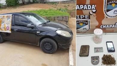 Photo of Chapada: Motorista é preso pela Cipe com maconha na estrada entre Itaberaba e Ruy Barbosa