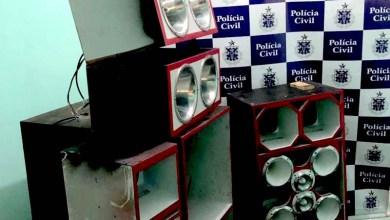 Photo of Chapada: Polícia Civil apreende mais um 'paredão' que incomodava população do município de Mucugê