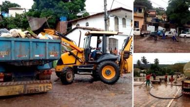 Photo of Chapada: Lençóis recebe volume de água esperado para mais de 20 dias; prefeitura atua em áreas afetadas