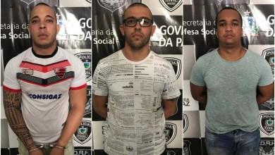 Photo of Presos na Paraíba policiais da Bahia suspeitos de sequestros de empresários, roubos e adulteração de veículos