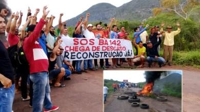Photo of Chapada: Manifestantes bloqueiam BA-142 e pedem ao governador recuperação integral da via; veja fotos e vídeos