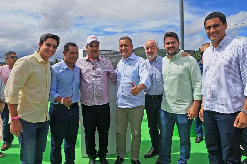 Chapada: Prefeito de Itaetê comemora entrega de trecho da BA-245 e anúncio de obras dos 35km até Mucugê