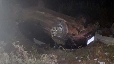 Photo of Chapada: Acidente com automóvel de passeio na entrada de Dom Basílio deixa feridos