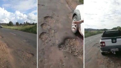 Photo of Chapada: Situação de estrada que liga Itaberaba a Iaçu gera vídeo de humor e toma as redes sociais; veja aqui