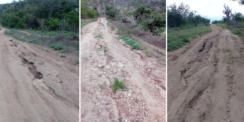 Chapada: Condutores que trafegam entre Ibiquera e Boa Vista do Tupim reclamam, mais uma vez, da estrada vicinal