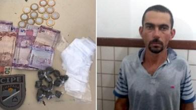 Photo of Chapada: Traficante de drogas é preso em flagrante pela Cipe no município de Ruy Barbosa