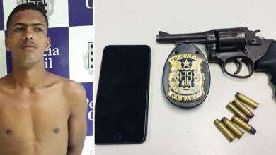 Photo of #Bahia: Polícia prende ladrão e recupera arma usada em assalto contra deputada do PSL em Feira de Santana