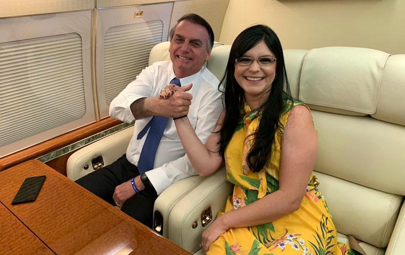 """""""O Nordeste e a Bahia conquistarão autonomia com Jair Bolsonaro"""", diz Dayane Pimentel"""