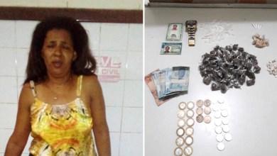 Photo of Chapada: Mulher é presa em Iaçu acusada de tráfico de drogas; Cipe realiza apreensões