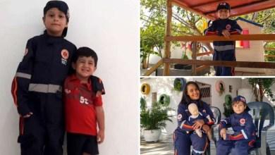 Photo of #Brasil: Garoto de 7 anos salva primo com primeiros socorros aprendidos com profissionais do Samu