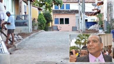 Photo of Chapada: Rua em Lençóis recebe calçamento após investimento de recursos próprios da prefeitura