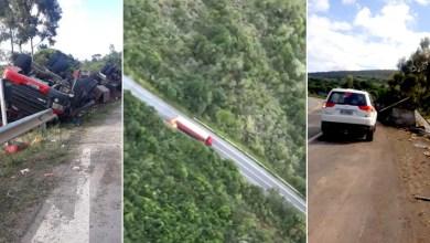 Photo of Chapada: Vídeos que circulam na internet mostram caminhão trafegando em chamas na região do Pai Inácio