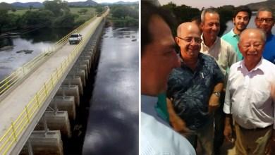 """Photo of Chapada: Vice-prefeito Léo Satélite diz que ponte entre Iaçu e Boa Vista do Tupim """"é um sonho realizado"""""""