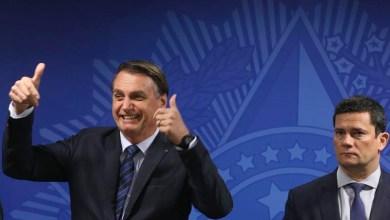 Photo of #Escândalo: Bolsonaro volta a defender Moro e diz que ele é 'homem símbolo' e que quer mudar o país