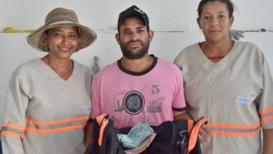 Photo of #Bahia: Garis devolvem bolsa com dinheiro encontrada nas ruas da cidade de Santa Luz