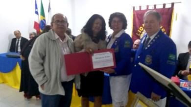 Photo of Chapada: Editora do Jornal da Chapada recebe título 'Amigos do Lions' durante homenagem em Itaberaba