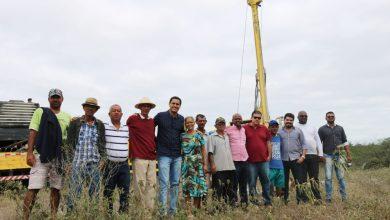Photo of Chapada: Quatro localidades da zona rural de Itaberaba recebem poços artesianos