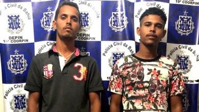 Photo of Chapada: Policiais civis localizam e prendem dupla por homicídio no município de Ponto Novo
