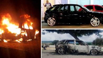 Photo of Chapada: Carro pega fogo enquanto proprietário comemorava seu aniversário em Jacobina