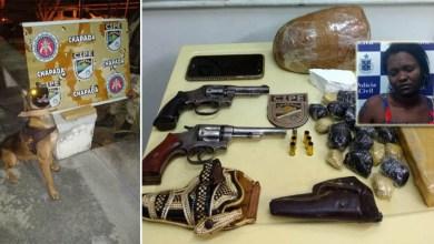 Photo of Chapada: Operação para cumprir mandado em Ruy Barbosa acaba com um morto e apreensão de drogas e armas